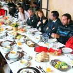Desayuno con deportistas
