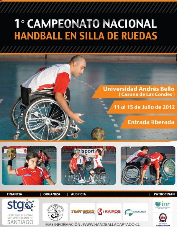 1er campeonato nacional de handball en silla de ruedas deporte chileno - Deportes en silla de ruedas ...