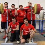 Equipo de pesas sudamericano