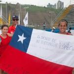 Oro en dobles damas tenis playa juegos bolivarianos playa