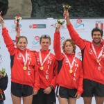 Oro en triatlón mixto