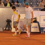 Cristian Garín y Nicolás Jarry dobles