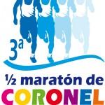 Logo 3era media maraton Coronel