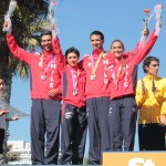 Chile medalla de plata en triatlón relevos mixto
