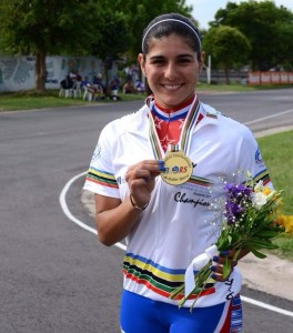 María José Moya medalla de oro mundial de rosario