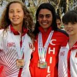 Fernanda Naser oro salto juegos bolivarianos de playa