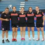 Chile_Femenino_tenis de mesa