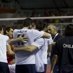 Chile vs Colombia sudamericano voleybol masculino